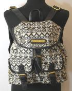 Aztec Print Twin Pocket Backpack / Rucksack / School Bag