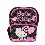 Black and Pink Hello Kitty Small Backpack - Hello Kitty School Bags