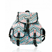 New!!! Anna Smith (By LYDC) Designer Retro Aztec Backpack/Rucksack/School Bag
