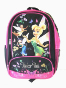 Disney Fairy Tinker Bell Backpack - Full size Fairy & Friends School Backpack