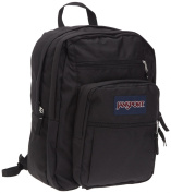 Jansport Big Student Rucksack - Black, 44x33x25 cm