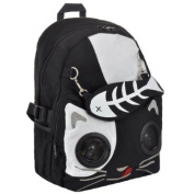 Living Dead Souls Cat and Gold Fish Backpack With Speakers