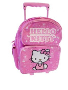 Hello Kitty Small Rolling BackPack - Sario Hello Kitty Small Rolling School Bag