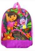 Dora The Explorer Backpack - Nickelodeon Dora The Explorer And Boots Kids School Backpack