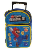 Super Mario Bros. Large Rolling BackPack - Mario Large Rolling School Bag