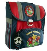 amaro 3105-70_78 Children's School Bag 34 x 38.5 x 17 cm Blue with Football Theme