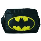 BATMAN SPORT BAG retro school case satchel fake leather