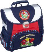 Amaro 3139-00_O6 Child's School Bag Set Football-Themed Blue