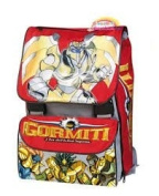 MATTEL 83644 BACKPACK EST. Gormiti MEDIUM WITH PEOPLE PERSON.