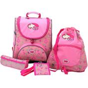 Friedrich 89000-9 - School Backpack Lillebi 4 Pcs