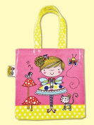 Rachel Ellen Fairy and Toadstool PVC Tote Bag