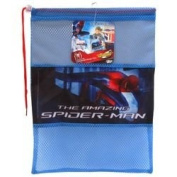 Kids Disney Boys Spiderman Storage Drawstring Tidy School P.E Gym Swimming Bag