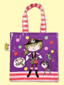 Rachel Ellen Girl Pirate PVC Tote Bag