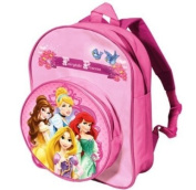 NEW DISNEY PRINCESS FAIRYTALE CHILDRENS 3D SCHOOL BACKPACK RUCKSACK BAG DSP-8050