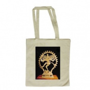 Shiva Nataraja (bronze) by Indian School - Long Handled Shopping Bag