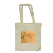 Orchids (ink on silk) by Japanese School - Long Handled Shopping Bag
