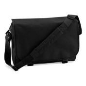 Bagbase Messenger School College Bag in Black
