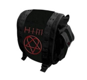 Official Messenger Bag HIM Heartagram RED Ville Valo SCHOOL Goth