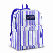 Jansport Superbreak school bag- White/Purple Sky Endless Summer
