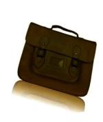 Unisex Vintage Faux Leather Large Satchel/School Bag/Messenger Bag