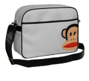 Paul Frank White Flight Messenger Shoulder Bag