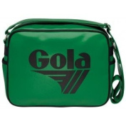Gola Redford Messenger Record School College Shoulder Bag Apple/ Black