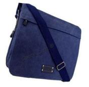Unisex Canvas Laptop School College Shoulder Satchel Messenger Bag