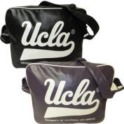 Ucla Shoulder Bag School Gym Work Messenger Bag Black or Plum