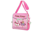 Hello Kitty Pink Carousel Messenger Mail Bag School Bag