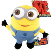 Despicable Me Deluxe 23cm 3D Minion DAVE Figure Plush Soft Toy collectible -XTRAFUN ESSENTIALS