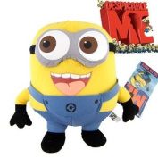 Despicable Me Deluxe 23cm 3D Minion JORGE Figure Plush Soft Toy collectible -XTRAFUN ESSENTIALS