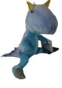23cm DINOSAUR KING BLUE SOFT TOY TEDDY BNWT