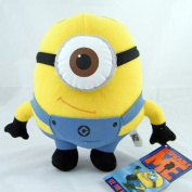 Despicable Me The Movie Minion STEWART ONE-EYE 23cm Stuffed Plush Doll Soft Toy