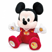 Talking Baby Mickey Mouse Soft Cuddly Toy