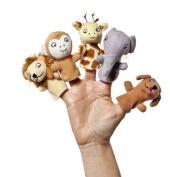 Dear Zoo 18cm Finger Puppets