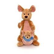 Disney, Winnie The Pooh, Large 30cm Kanga with 10cm Roo Soft Plush Doll Toy