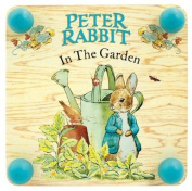 Beatrix Potter 185mm Square Wooden Peter Rabbit Plant Press