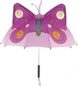 Kidorable U0100BY Childrens Umbrella BUTTERFLY Brolly