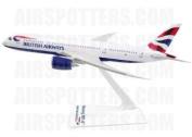 Premier Planes SM78764WB British Airways Boeing 787-8 1:200 clip-together model
