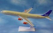 Premier Planes SM340-27WB Scandinavian Airlines SAS Airbus A340 (1:250.) clip-together model