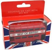 Best Of British Red London Bus Metal Die-Cast