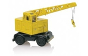 Hornby 1:76 Trackside Coles Argus 6 Tonne Crane Vehicle Model, Yellow