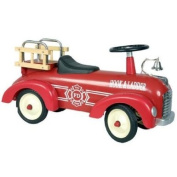 Marquant Vintage Kids Pedal Car Fire Truck