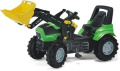 rolly toys Agrotron 710133 Toy Tractor with Pneumatic Tyres and Loader