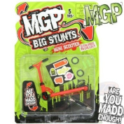 MADD MGP Big Stunts Mini Finger Scooter - Finger Whip Toy - RED