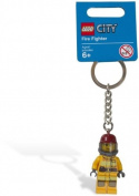 Lego City Fire Fighter keyring / keychain
