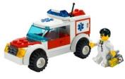 LEGO City 7902 Doctor's Car