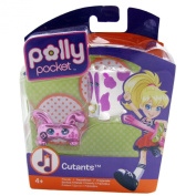 Polly Pocket Cutants Friends Rabbit And Cow Figure Toy Accessory 4+