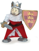 Le Toy Van BK732 Budkins Knight King Richard the Lionheart Flexible Doll