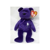 TY - Beanie Buddy - Princess - 36cm - Purple Bear